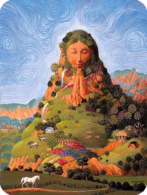 Goddess Mother Earth
